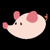 ネズミ(鼠,ねずみ)の かわいい デザイン♪ 無料 イラスト