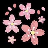 桜 (さくら・サクラ)イラスト !ドットでかわいい♪