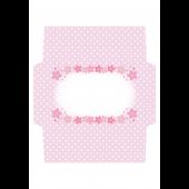 かわいい♪ 桜の封筒 (レターセット)テンプレート!イラスト
