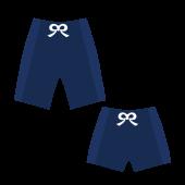 プール!スクール 水着 (男の子 )ハーフ丈とショート丈 の 無料 イラスト