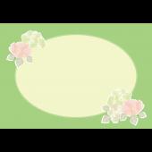 梅雨♪ 綺麗な 紫陽花(アジサイ)のフレーム フリー イラスト