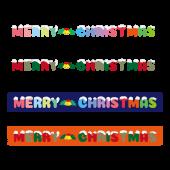 クリスマス 英語文字(ロゴ)♪ マスキングテープ/横長の イラスト