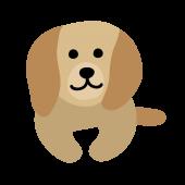 ゆる!かわいい ダックスフンド(犬)の フリー イラスト