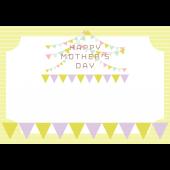 母の日!フレーム(枠)ガーランド A4 イラスト