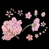 かわいい!桜(サクラ・さくら) の 手書き 無料 ♪ イラスト